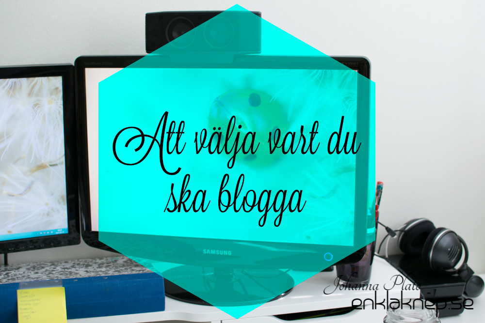 välja blogg