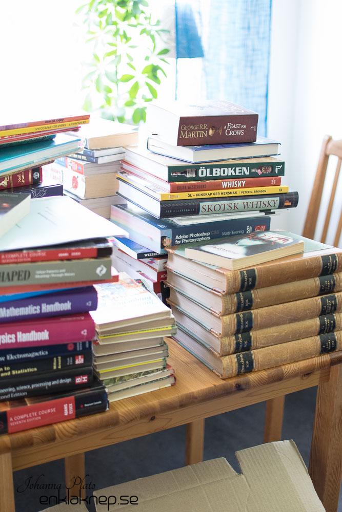 sortering av böcker