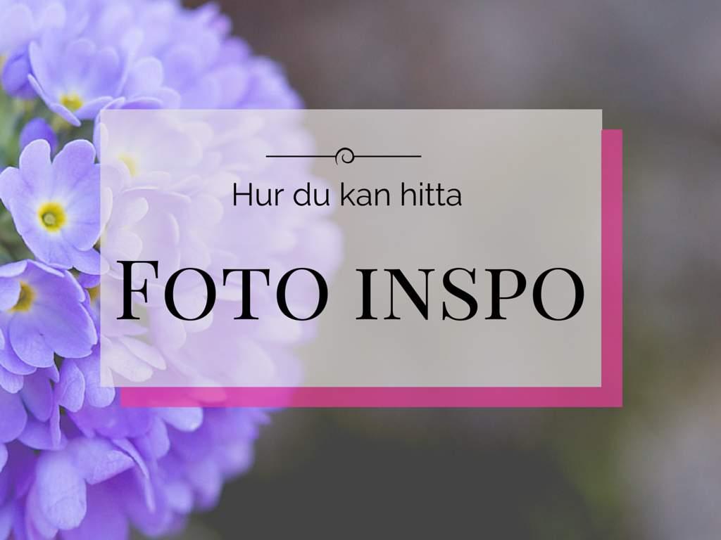 Foto inspiration