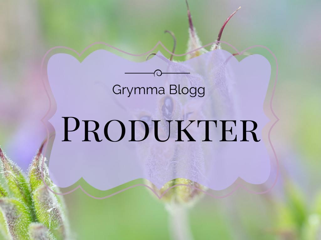 Grymma blogg produkter