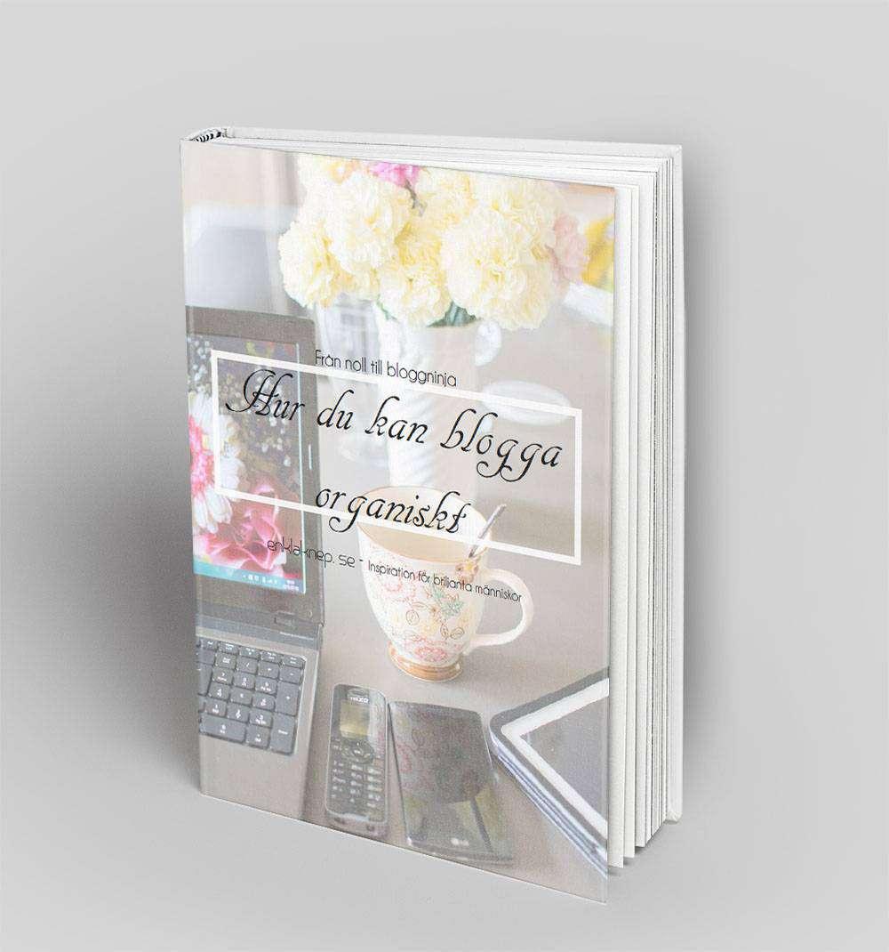 enklaknep e-bok organiskt bloggande