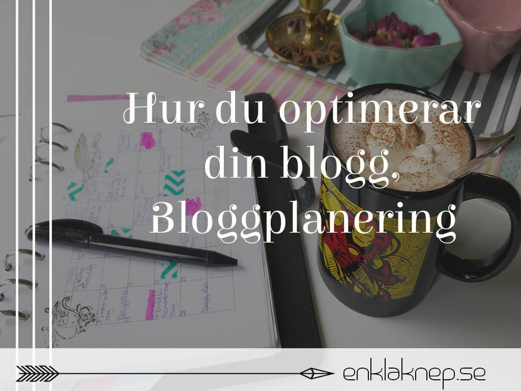 Bloggplanering