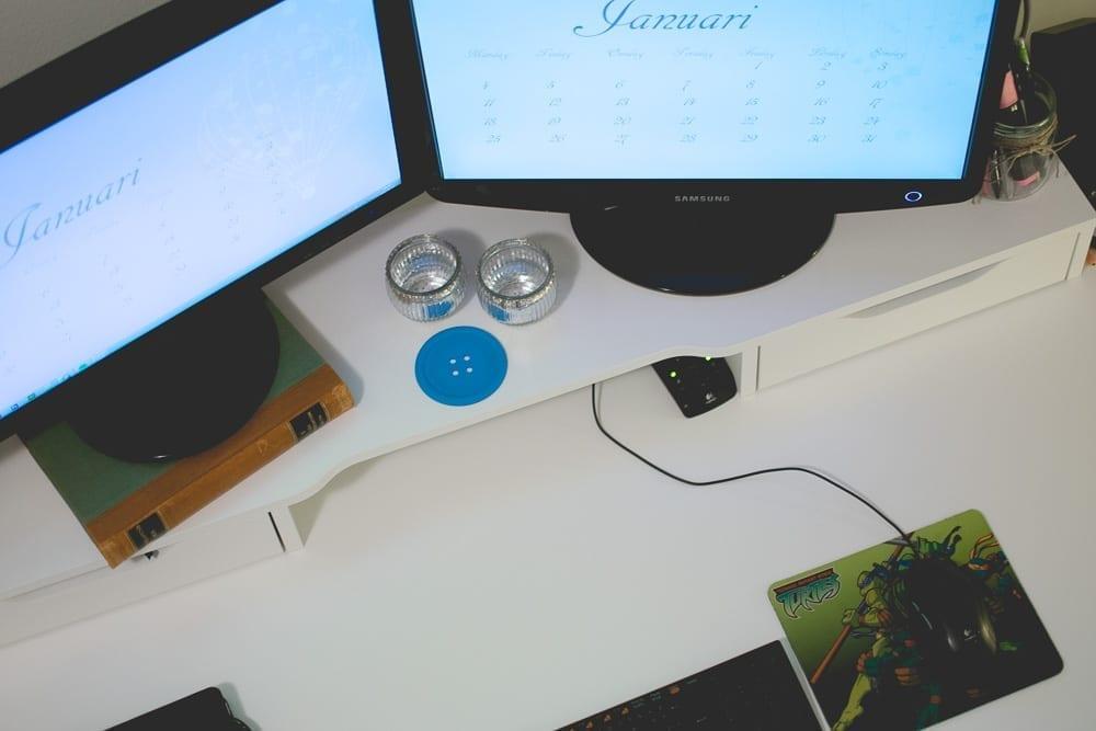 dags att fixa skrivbordet