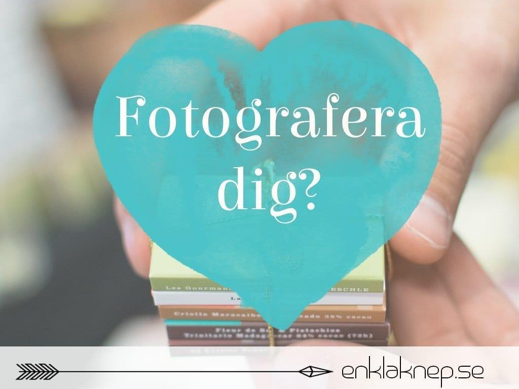 Fotografera dig