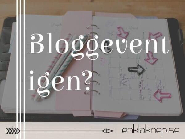 bloggevent igen