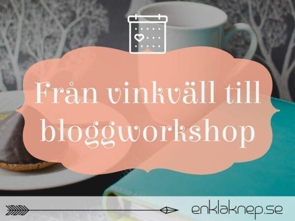 bloggworkshop