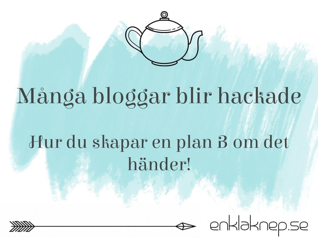 hackade bloggar