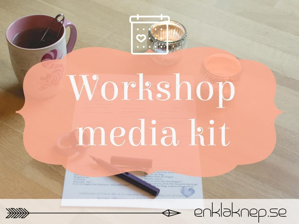 Workshop media kit