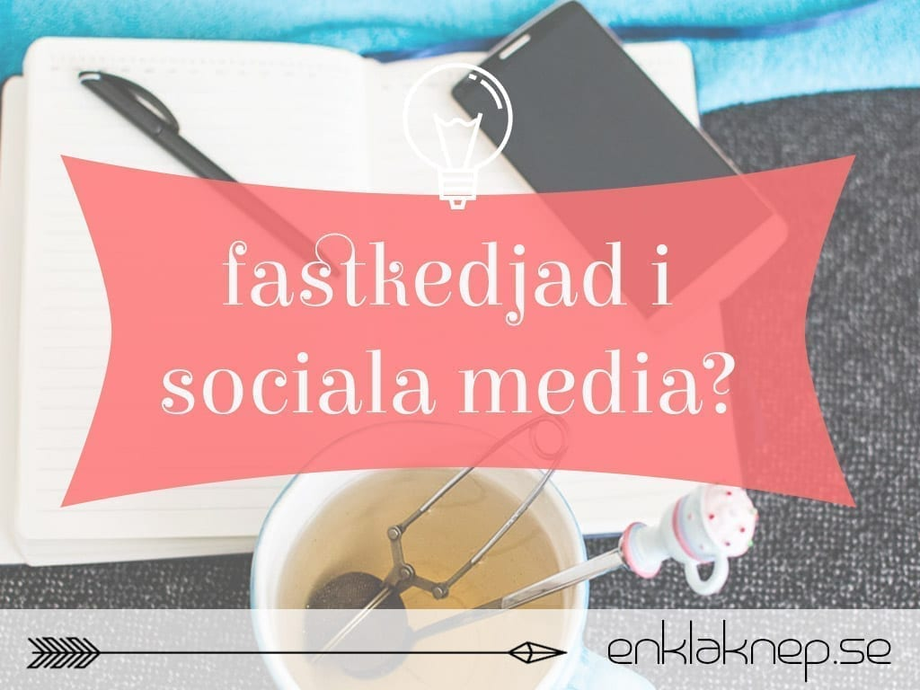 fastkedjad i sociala media