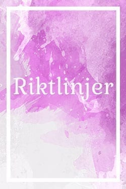 workshop riktlinjer