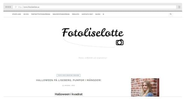 Liselottes blogg