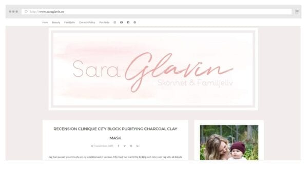 Saras blogg