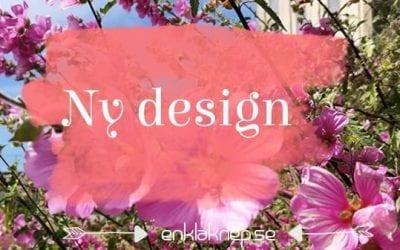 Ny design men inte helt klar