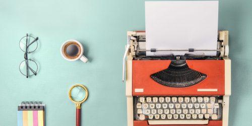 Skriva på din blogg